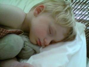 Napping Toddler