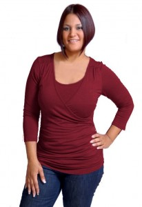 Annee Matthew Rouche Maternity & Nursing Top