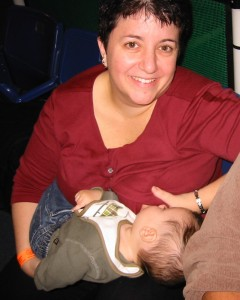 Breastfeeding, age 7 months