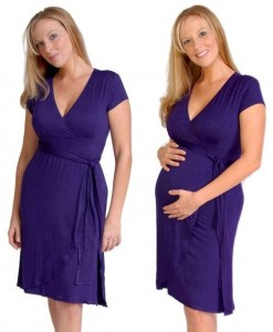 Elena Maternity & Nursing Dress