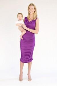 Hudson Dress purple