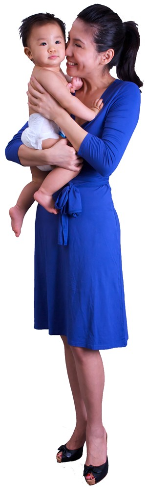 Giselle Dress - Mom with Baby