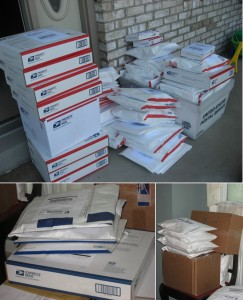 heaps of packages