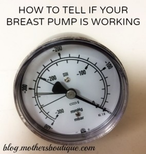 breast pump motor tester