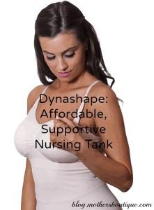 dynashape nursing tank